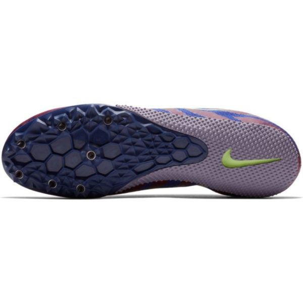 NIKE ZOOM RIVAL S 9 BORDEAUX/LIME BLAST-REGENCY PURPLE