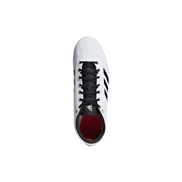ADIDAS ADIZERO PRIME SPRINT SPIKES FTWR WHITE/CORE BLACK/SHOCK RED