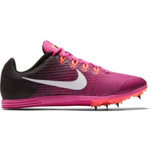 WMNS NIKE ZOOM RIVAL D 9 FIRE PINK/WHITE-BLACK