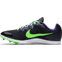 NIKE ZOOM RIVAL D 9 BLACK/GREEN STRIKE-FIERCE PURPLE