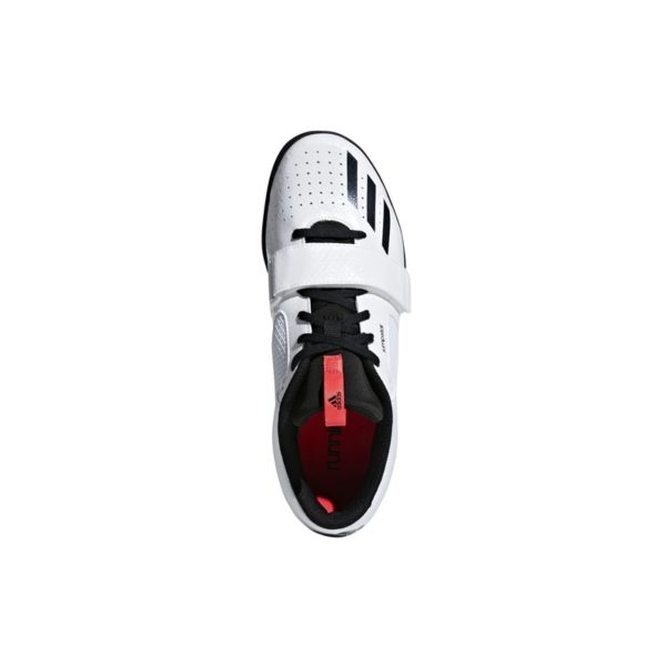 ADIDAS JUMPSTAR SPIKES FTWR WHITE/CORE BLACK/SHOCK RED
