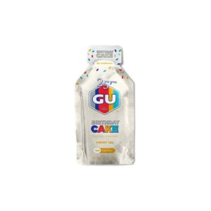 GU ENERGY GEL BIRTHDAY CAKE