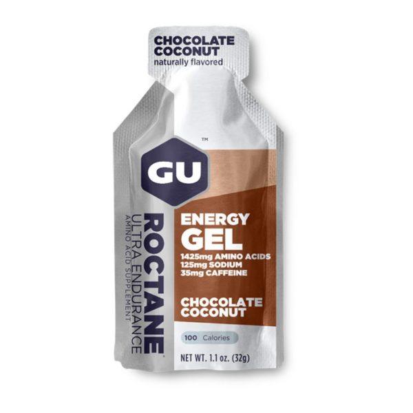 GU ROCTANE ENERGY GEL CHOCOLATE COCONUT