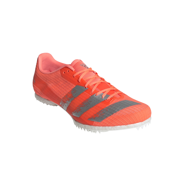 ADIDAS ADIZERO MIDDLE DISTANCE SPIKES SIGNAL CORAL SILVER